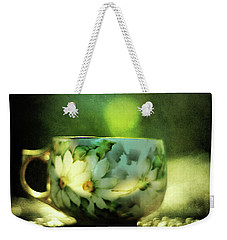Weekender Tote Bag featuring the photograph Afternoon Tea by Rebecca Sherman