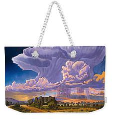 Afternoon Thunder Weekender Tote Bag by Art James West