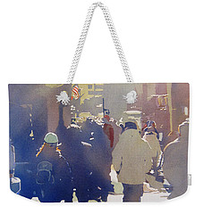 Against The Light Weekender Tote Bag