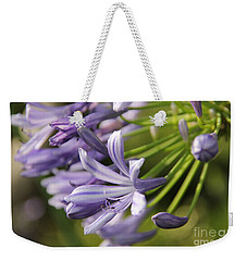 Agapanthus Flower Close-up Weekender Tote Bag