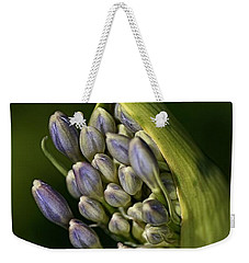 Weekender Tote Bag featuring the photograph Agapanthus by Joy Watson