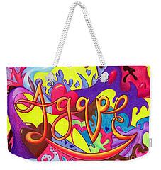 Agape Weekender Tote Bag