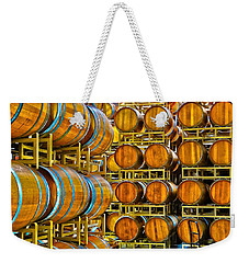 Aging Wine Barrels Weekender Tote Bag