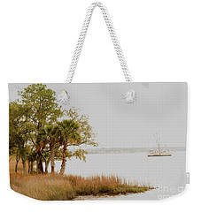 Aground At The Marsh Weekender Tote Bag