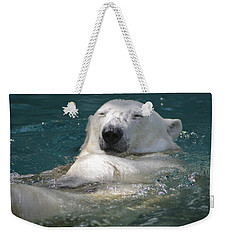 Ahhh Weekender Tote Bag by Kathy Barney