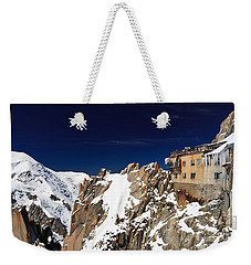 Aiguille Du Midi -  Mont Blanc Massif Weekender Tote Bag