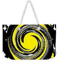 Weekender Tote Bag featuring the digital art Aimee Starry Night by Catherine Lott