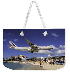 Air France St. Maarten Landing Weekender Tote Bag