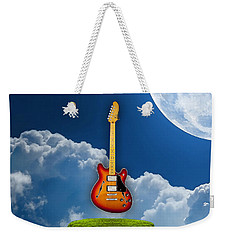 Air Guitar Weekender Tote Bag by Marvin Blaine