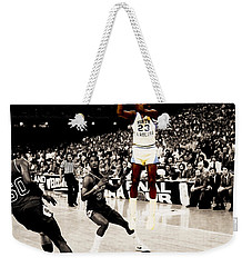 Air Jordan Unc Last Shot Weekender Tote Bag