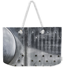 Aircraft Aluminum Two Weekender Tote Bag by Gary Warnimont