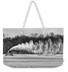 Airfield Snow Blower  Weekender Tote Bag