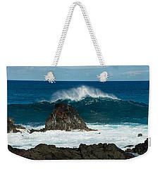 Akahange Wave Weekender Tote Bag