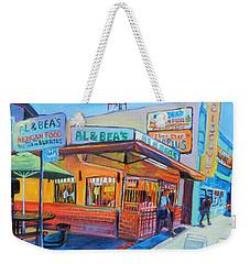 Al And Beas Weekender Tote Bag