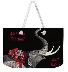 Alabama Football Roll Tide Weekender Tote Bag