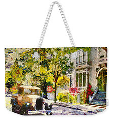 Alameda  Afternoon Drive Weekender Tote Bag