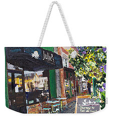 Alameda Julie's Coffee N Tea Garden Weekender Tote Bag