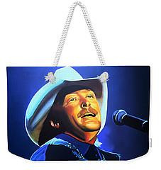 Alan Jackson Painting Weekender Tote Bag