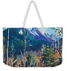 Alaska Autumn Weekender Tote Bag by Yulia Kazansky