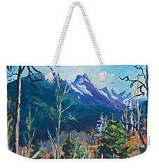 Alaska Autumn Weekender Tote Bag