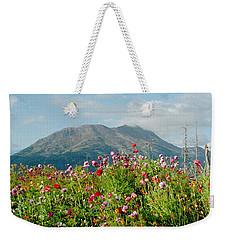 Alaska Flowers In September Weekender Tote Bag