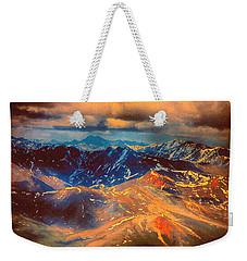 Alaska From The Air Weekender Tote Bag