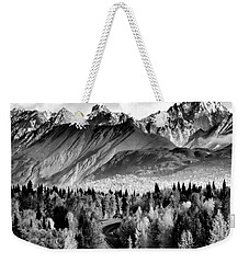 Alaskan Mountains Weekender Tote Bag