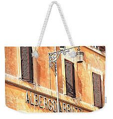 Albergo Abruzzi Weekender Tote Bag
