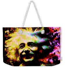 Albert Einstein - Why Is It That Nobody Understands Me - Yet Everybody Likes Me Weekender Tote Bag