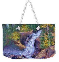Alberta Falls Weekender Tote Bag by Margaret Bobb