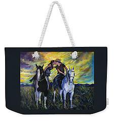 Alberta Kiss Weekender Tote Bag