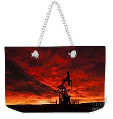 Alberta Sunrise Weekender Tote Bag