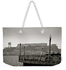 Weekender Tote Bag featuring the photograph Alcatraz by Alex King