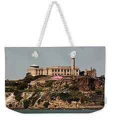 Alcatraz Panorama Weekender Tote Bag