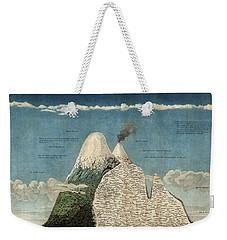 Alexander Von Humboldts Chimborazo Map Weekender Tote Bag