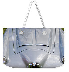 Weekender Tote Bag featuring the photograph Alfa Romeo 1900 Ss Zagato Berlinette by Maj Seda