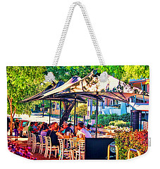 Alfresco Weekender Tote Bag