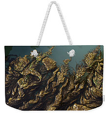 Algae Weekender Tote Bag by Ron Harpham