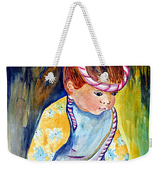 Ali Learns To Bow Weekender Tote Bag