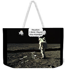 Alice Kramden On The Moon Weekender Tote Bag