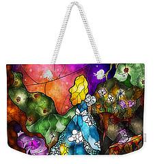 Alice's Wonderland Weekender Tote Bag