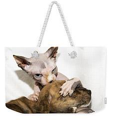 Alien Abduction Weekender Tote Bag