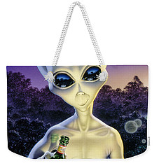 Alien Brew Weekender Tote Bag by Steve Read