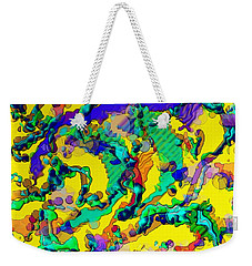 Alien Dna Weekender Tote Bag by Alec Drake