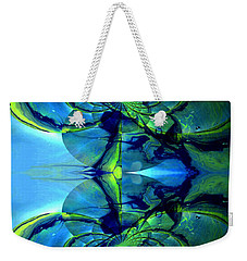 Weekender Tote Bag featuring the photograph Alien Dna by Robert Kernodle