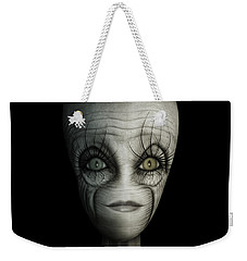Alien Face Weekender Tote Bag by James Larkin