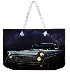 Alien Lincoln Roswell Saturday Night Weekender Tote Bag