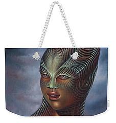 Alien Portrait I Weekender Tote Bag