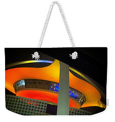 Alien Space Ship Landed Weekender Tote Bag
