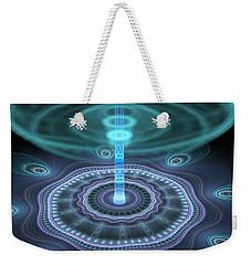 Alien Station Weekender Tote Bag